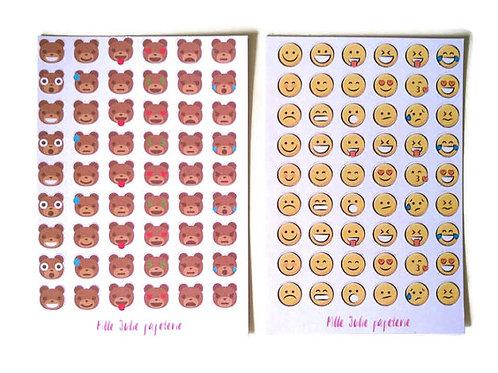 Planner Stickers - Emojis