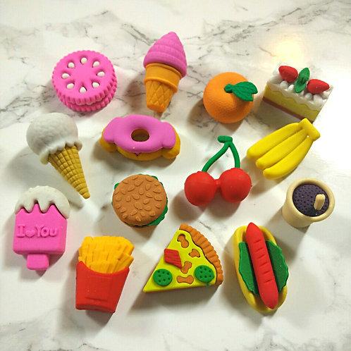 Eraser - Food & Animals