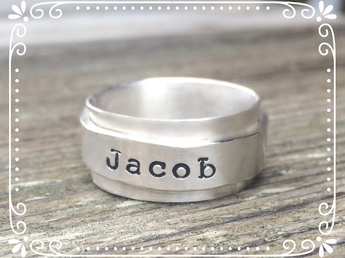 double band name ring