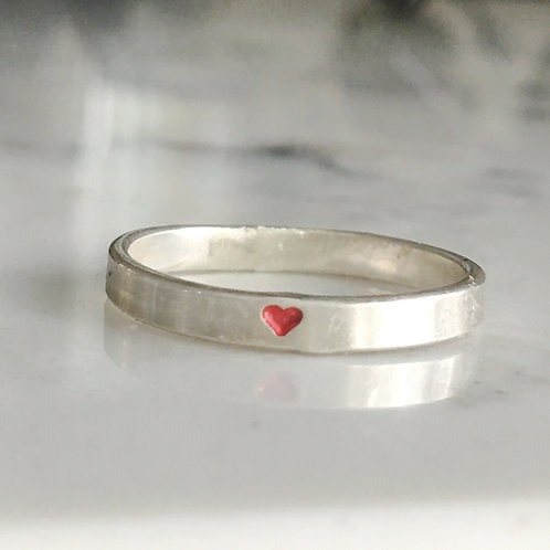 FebruaryStacking Hope RIng - American Heart Association