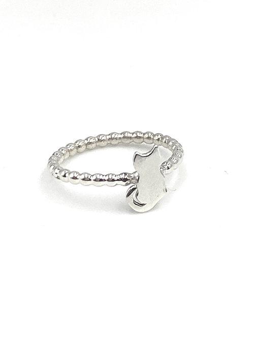Kitten stackable ring