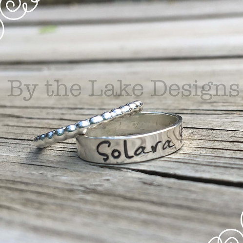 5mm stamped ring