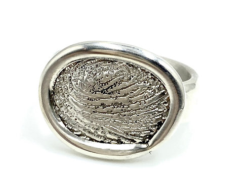 logan thumbprint  ring