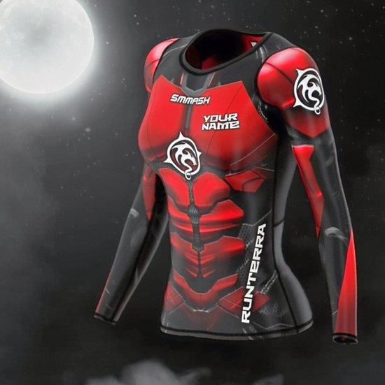 Racing Shirt Frauen lang (Compression)