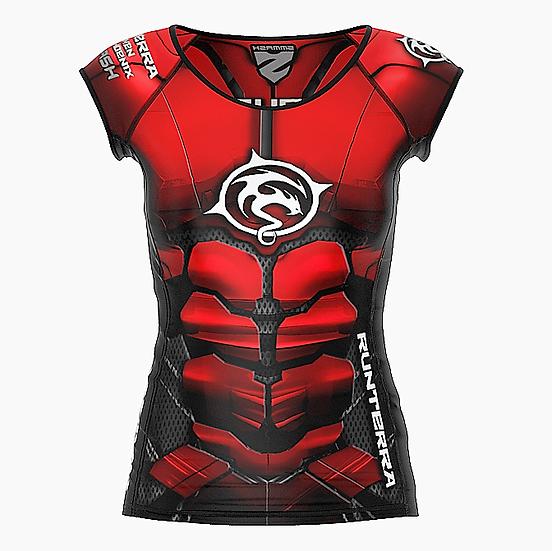 Racing Shirt Frauen kurz (Compression)