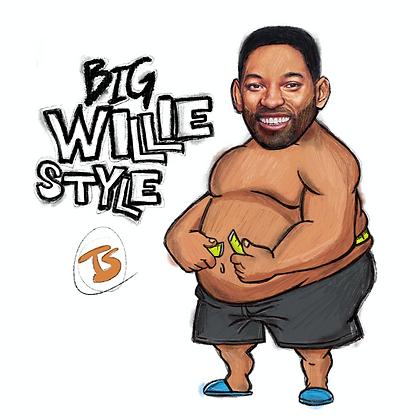 BIG WILLIE STYLE - DOODLE PRINT