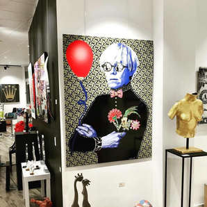 ANDY DAZZLE ME Galerie 28 Reims