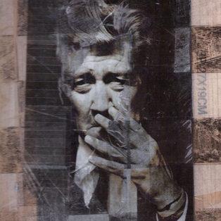 Art Taping Sur bois 21 x 30 cm