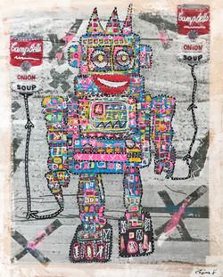 Robot Warhol