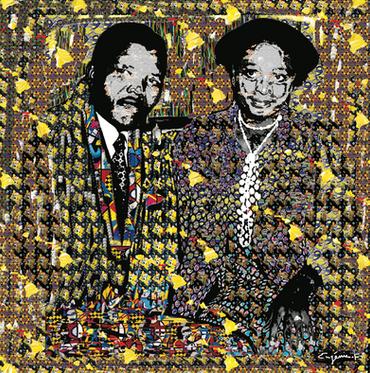 Winnie et Mandela