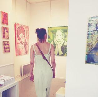 Exposition  Galerie Nunc Paris