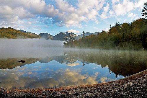 Fog on the Upper Ausable Lake