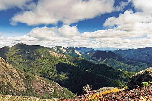 View from Mt. Haystack
