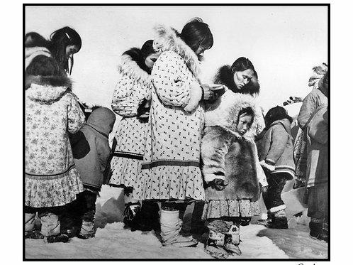 "Yellowknife 1961, V   12"" x 14"""