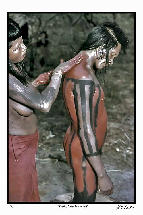"""Painting-Amazon, 1961  12"""" x 18"""""""