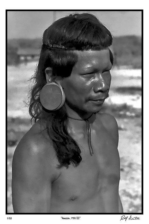 """Amazon 1958, III    12"""" x 18"""""""