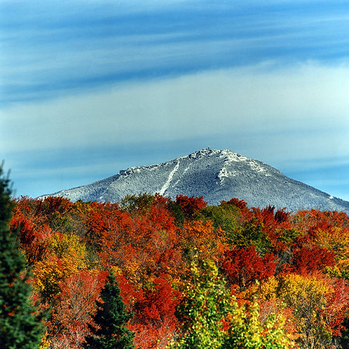 Whiteface and Fall Colors