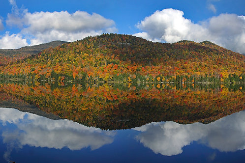 Upper Ausable Fall Reflection