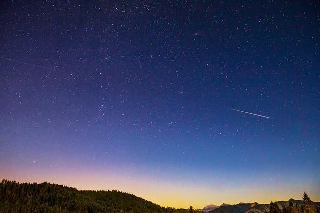 Sternschnuppennacht Sattelegg