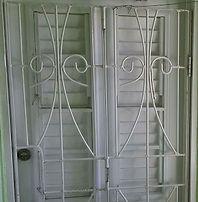 Burglar Bars for a entrance door