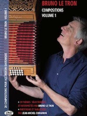 Bruno Le Tron - Recueil de partitions (DVD inclu)