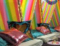 Rainbows Slumber Party