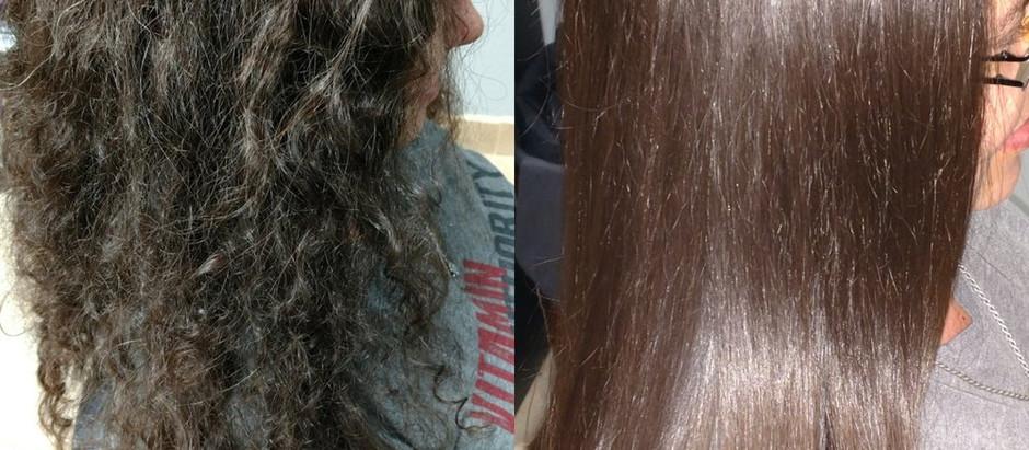 Straight Hair for Summer!