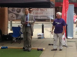 Even local MP's have a go!