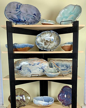 Bonnie Ann Burnett Inspired Pottery