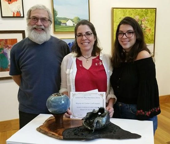 PLANet Ain't Pretty, my collaborative Art as Activism Piece on Climate Change, on the Wayne Art Center Craft Award!