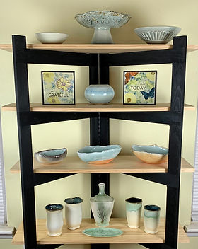 Wall Art, Functional Pottery and More by Ceramic Artist Susan O'Hanlon