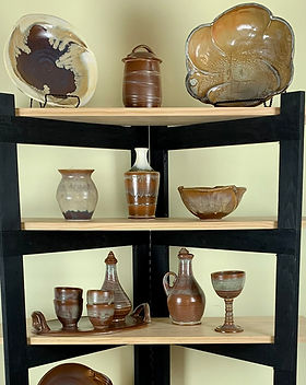 Earthy Brown Pottery Collection by Susan O'Hanlon