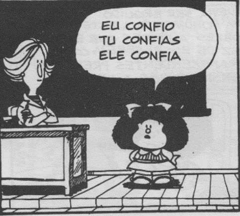 Mafalda na Escola
