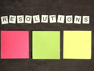 Make different resolution this year.