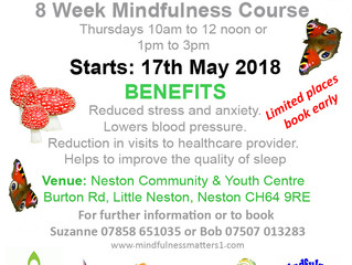 New Mindfulness Classes at Neston