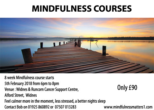 MBSR MIndfulness Courses Cheshire