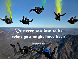 Its never too late..........