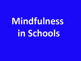 Mindfulness in School - Government Trial
