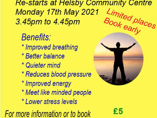 Tai Chi at Helsby Community Centre