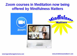 Mindfulness Matters- now using Zoom