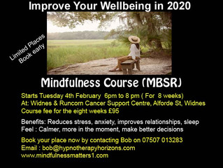 New Mindfulness Based Stress Reduction Course - Widnes