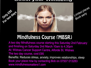 Weekend Mindfulness course