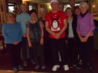 Last session of Tai Chi before Christmas