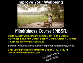 New Stress Reduction Mindfulness Courses