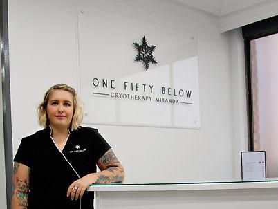One Fifty Below Cryotherapy Miranda