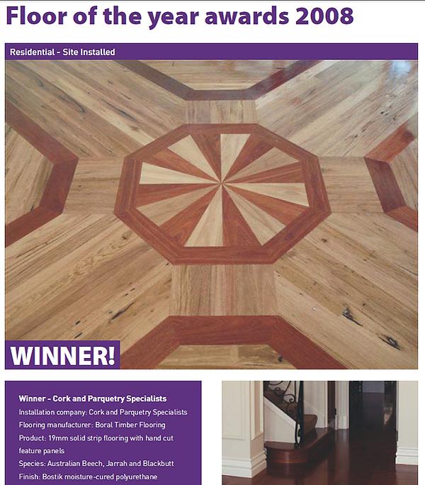 special parquetry floor