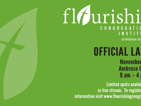 Flourishing Congregations Institute Launch