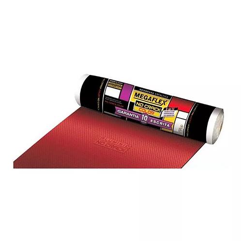 Membrana Asfáltica Aluminio No Crack Color Roja