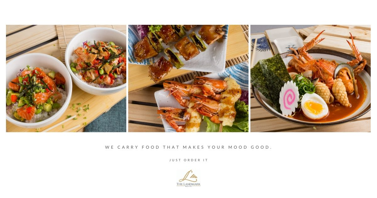 We carry food that makes your mood good.