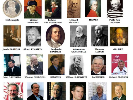 I più famosi e bravi sono dislessici!
